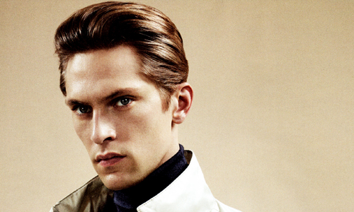 stylist: Benjamin Sturgill MODEL(S): Mathias Lauridsen. SCANS BEHIND THE CUT